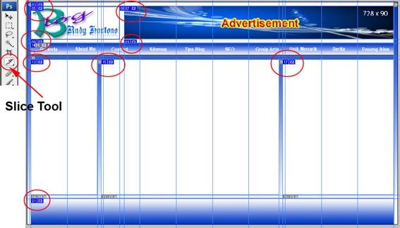 19. Dan hasil akhir dari desain website dengan photoshop, seperti ...